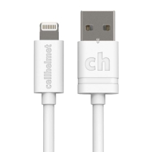 Cellhelmet Round 10' Lightning Data & Charge Cable (White)