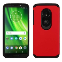 Advanced Armor Case Motorola Moto G6 Play (Red & Black)
