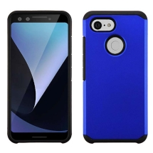 Advanced Armor Case for Google Pixel 3 (Blue & Black)