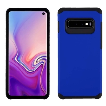 Advanced Armor Case for Samsung Galaxy S10 (Blue & Black)