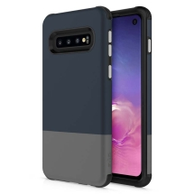 Zizo Division Case for Samsung Galaxy S10 (Blue & Gray)