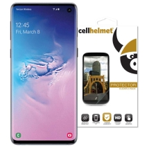 Cellhelmet TPU Screen Protectors for Samsung Galaxy S10 (2 Pack)