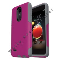 OtterBox Commuter Case for LG K8 (2018) & K8S (2018) (Fuchsia Stone)