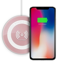 Naztech HyperGear Pro Fast Qi Wireless Charger (Rose Gold)