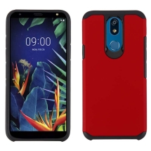 Advanced Armor Case for LG K40 (Red & Black)