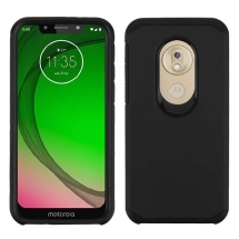Advanced Armor Case for Motorola Moto G7 Play (Black & Black)