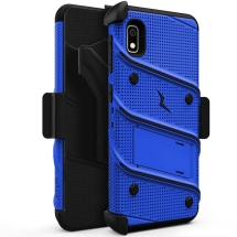 Zizo Bolt Case with Stand for Samsung Galaxy A10e (Blue & Black)