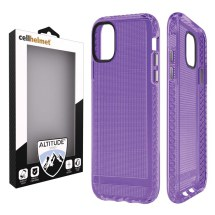 Cellhelmet Altitude X Case for Apple iPhone 11 Pro Max (Purple)