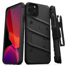 Zizo Bolt Case with Stand for Apple iPhone 11 Pro (Black & Black)