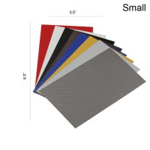 ProtectionPro Small Carbon Fiber Film Combo Pack (Includes 1 Sheet of All 8 Designs)
