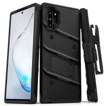 Zizo Bolt Case with Stand for Samsung Galaxy Note 10+ (Black)