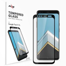 Zizo Tempered Glass Screen Protector for Google Pixel 4 XL (Black)