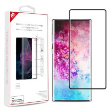 MYBAT Full Adhesive Tempered Glass Screen Protector for Samsung Galaxy Note 10+ (Black)