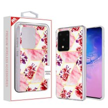 MYBAT Electroplated Case for Samsung Galaxy S20 Ultra (Rose Marble)