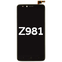 LCD, Digitizer & Frame Assembly for ZTE Z981 (Black)