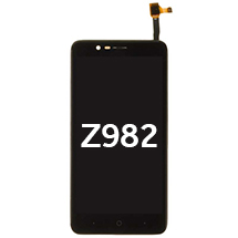 LCD, Digitizer & Frame Assembly for ZTE Z982 (Black)